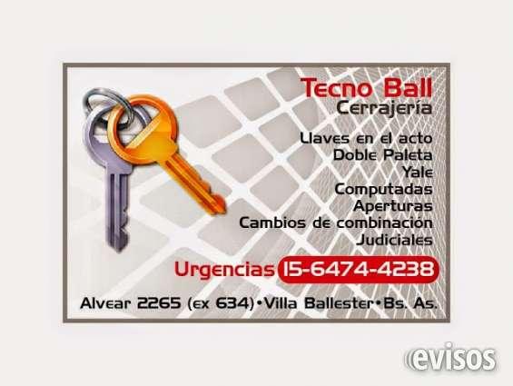 Cerrajero villa ballester te. whatsap 11.6474.4238