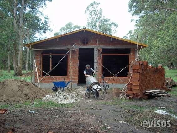 Construimos viviendas, llave en mano, o por administraciòn