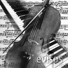 Clases de violin y piano para principiantes