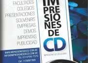Copia impresion cd dvd packaging caratulas full color