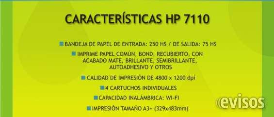 Fotos de Se vende impresora hp 7110 a3 + sistema continuo! 3