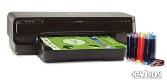Fotos de Se vende impresora hp 7110 a3 + sistema continuo! 1
