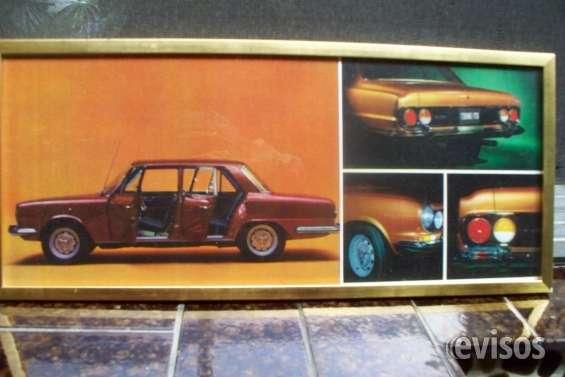 Venta de cuadros de automoviles antiguos clasicos