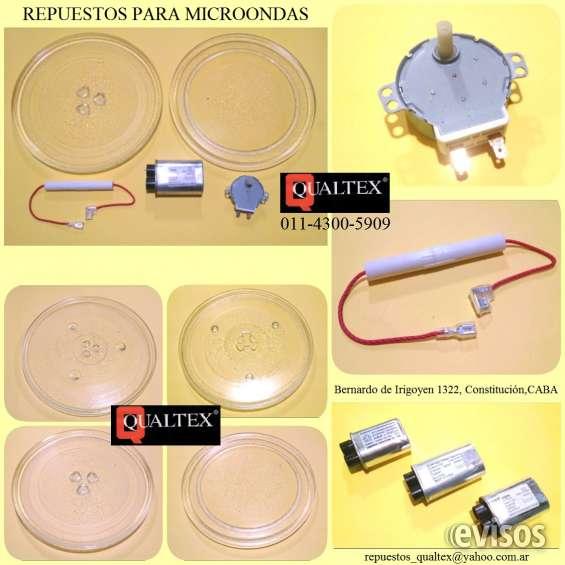 Microondas: repuestos y accesorios