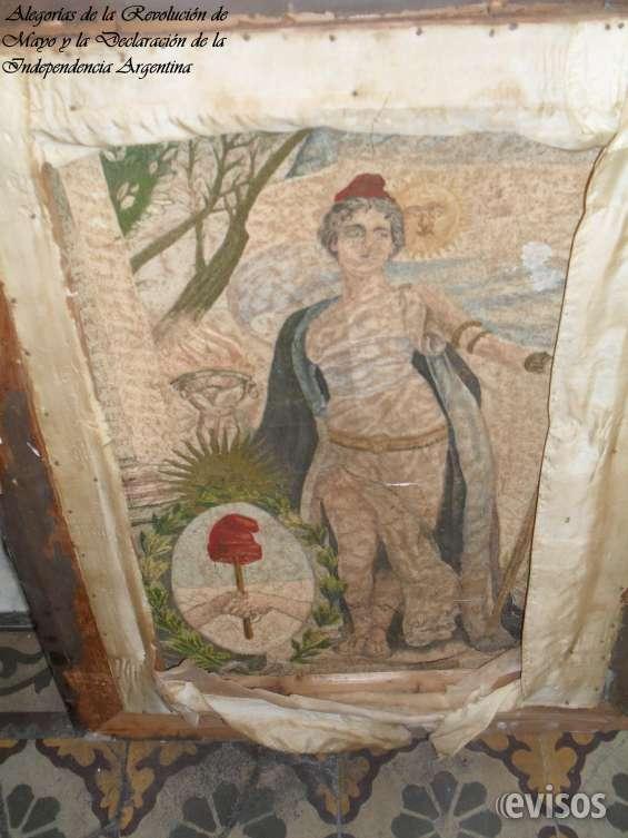 Cuadro bordado con hilos de seda