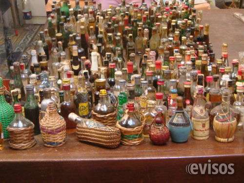 Botellitas de licor coleccionables