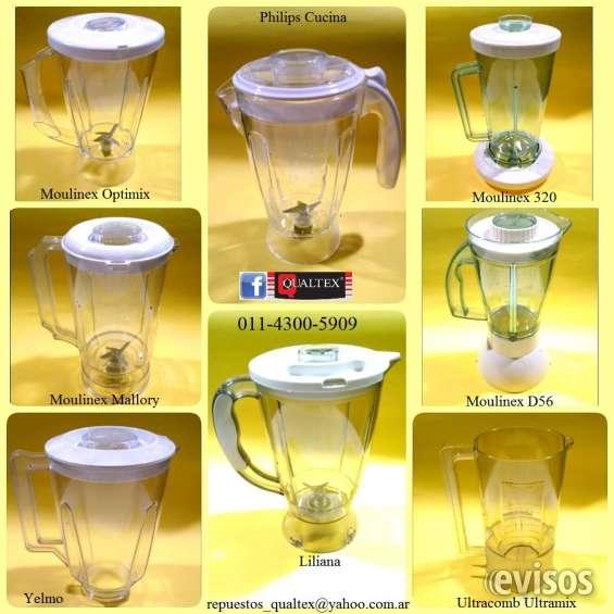 Licuadoras: vasos - jarras de acrílico
