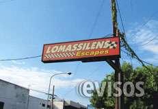 Lomassilens fabrica de caños de escape