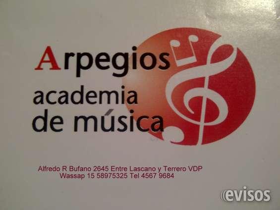 Clases particulares de musica piano guitarra violin canto improvisaciones