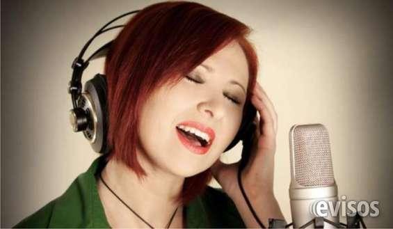 Clases de canto profesora de canto