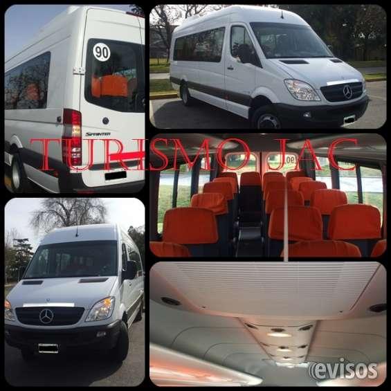 Turismo jac empresa de traslados en combis y minibuses
