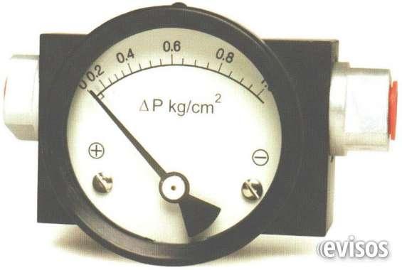 Indicadores de presion diferencial manometros diferenciales