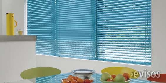 Fabrica de cortinas venecianas aluminio 25 mm hilos y escalers al tono $ 840 m2
