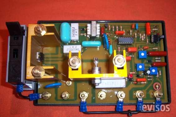 Reguladores de tensión grupos electrogenos