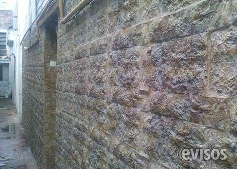 Las placas de fibra que imitan a la piedra