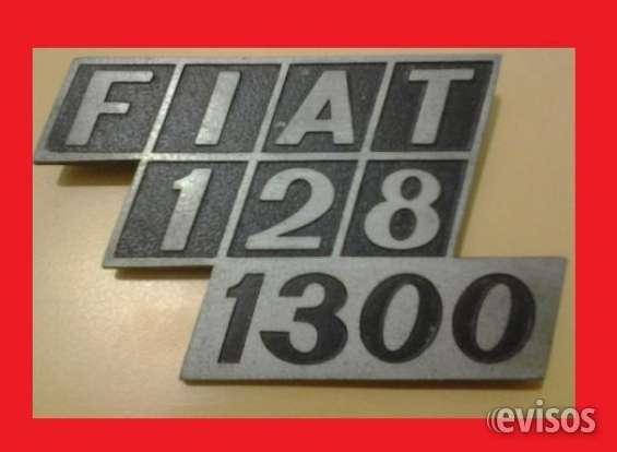 Insignia fiat 128 / 1300 original metalica