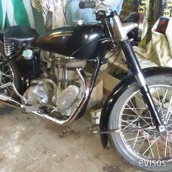 Vendo ajs 500 1948 rígida original $90000