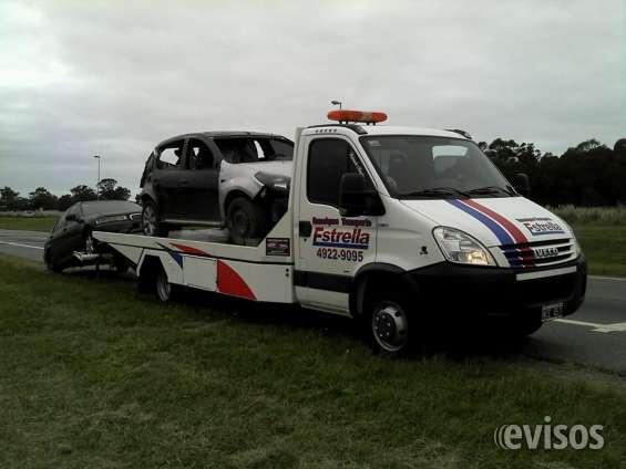 Transporte de autos villa gesell 022551558671 chocados y con averias mecanicas
