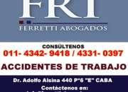 accidentes de trabajo indemnizaciones zona Lanus Este | FERRETTI ABOGADOS | Tel 4342-9418