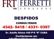 Lo despidieron? en Avellaneda Llamenos al *43429418*