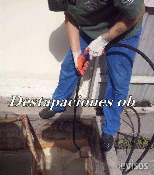 Destapaciones 4734-4230 desagotes 1558100380