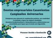 PROSONAR - Alquiler de Fotocabinas, Carpas, Gazebos, Calefactores dj, equipos de sonido