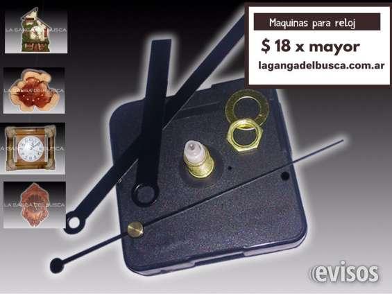 Maquinas para reloj ideal para artesanias completa con agujas marca la ganga del busca , i