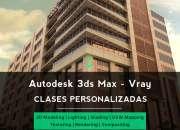 Usado, Cursos 3ds max - vray segunda mano  Villa Urquiza
