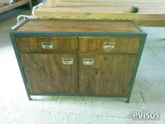 Mueble bajo industrial