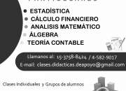 ALGEBRA y ANALISIS MATEMATICO 15-3758-8424 // 4582-9017