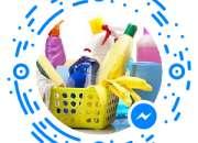 Articulos de limpieza cloro detergentes desengrasantes jabon liquido suavizantes
