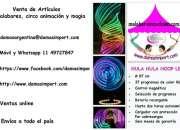 Hula Hula de luz programable