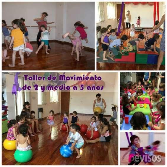 Taller de movimiento para niños de 2 ½ a 5 años