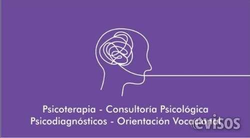 Lic. psicología. psicoterapias. espacio terapéutico