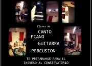 CLASES DE CANTO, PIANO, GUITARRA Y BOMBO EN