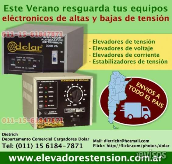 Elevador de tensión para lavarropas 011-48492747