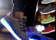 Zapatillas luces led 7 colores usb niños y adulto…