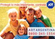 ADT Alarmas 0800-345-1554 - 0$ Instalación - Equipo 100% Bonificado !!!
