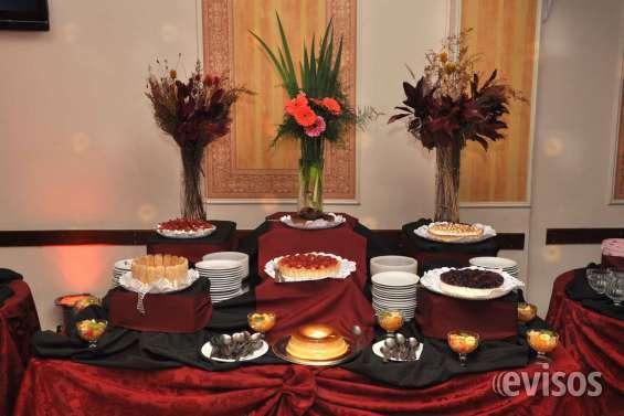 Servicio de catering todo incluido $590 por persona