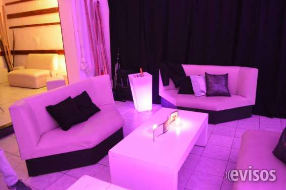 Sillones con luces led