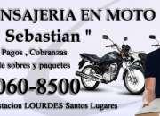 Mensajeria en moto cadete delibery - moto mesajer…