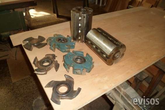 Fresas y pistones de prensas de carpinteria