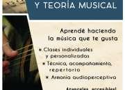 Clases Guitarra y Teoría Musical San Telmo Monserrat San Nicolas