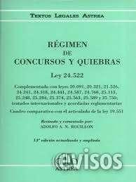 Clases particulares de quiebras (insolvencia), procesal civil y defensa del consumidor.