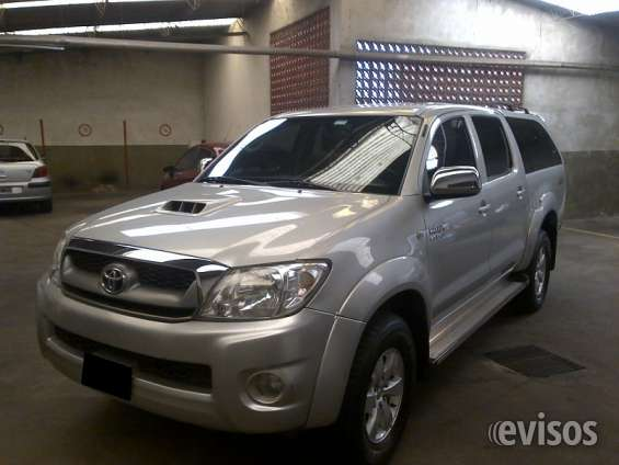 Toyota hilux 3.0 4x2 srv tdi dc 2011 diesel