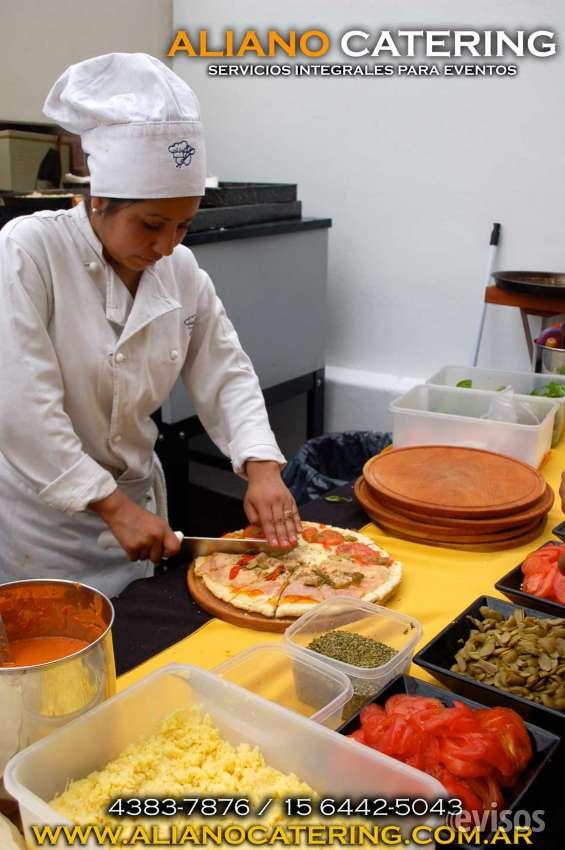 Pizza party a domicilio 4383-7876/15-6442-5043 barras de tragos casamientos fiesta de 15