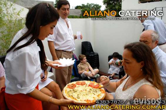 Servicio de pizza party para eventos 4383-7876/15-6442-5043 barras de tragos casamientos