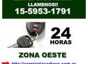 Cerrajeria domiciliaria en Jose C Paz Llamenos [15 5953 1791]