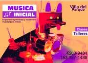 Clases y Talleres de música  en Villa del parque