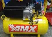 Compresor de aire importado de 2.5hp tanque 50lts